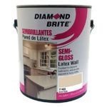 Diamond Brite Paint 21400 1-Gallon Semi Gloss Latex Paint Moon Gold