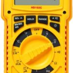 Amprobe HD160C Heavy Duty Multimeter with TRMS, IP67 Rating, and Temperature