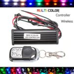 CHAMPLED New Motorcycle Car Lighting Light Strip LED RGB Multi-Color Remote + Controller For ACURA NISSAN MITSUBISHI SUBARU MAZDA