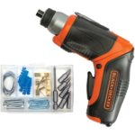 BLACK+DECKER BDCS40BI 4V MAX Lithium Pivot Screwdriver