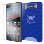 HTC U Ultra Screen Protector (3-Pack), Skinomi Tech Glass Screen Protector for HTC U Ultra Clear HD and 9H Hardness Ballistic Tempered Glass Shield