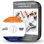 Learn Plumbing 6 Manual Training Course on CD Pipe Fitting Plumber Study Book PC