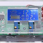Yeeco DC 5A Adjustable Buck Step Down Converter 6V-32V to 1.5-32V LCD Volt Transformer Tester Gauge Multimeter Constant Voltage Board Regulator Current Monitor Power Supply Module with USB Interface
