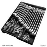 Tool Sorter Wrench Organizer – Black