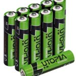 AAA Rechargeable Batteries – High Capacity – Pack of 10 – Pre-Charged – By Utopia Home