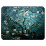 Meffort Inc Standard 9.5 x 7.9 Inch Mouse Pad – Vincent van Gogh Almond Blossoming