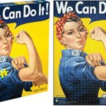 Aquarius Smithsonian Rosie the Riveter 1000 Piece Jigsaw Puzzle