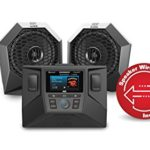 MTX RZRSYSTEM1 Polaris RZR Source Unit and 2 Speaker Audio System