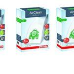 Miele AirClean 3D Efficiency Dust Bag, Type U, 12 Bags & 6 filters