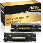 Arcon Compatible Canon 125 Toner Cartridge with Canon LBP6000 Toner Cartridge Canon LBP6030W Toner for Canon Imageclass LBP6000 LBP6030W MF3010 Toner -2 Pack