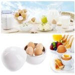 Microwave Boiler/Cooker, Bangcool Microwave Egg Cooker for 4 Eggs(White)