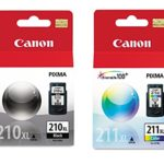 Canon PG-210XL/CL-211XL Extra High Yield Black and Color Ink Cartridge Set