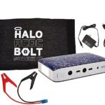 Halo Bolt Portable Charger & Car Jump Starter w/ LED Floodlight & Cell Phone Charger