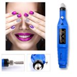 Professional Electric Manicure Machine Nail Drill art Pedicure FileASTV Acrylics Tool Finger Toe Care Product with Multi Sanding Bits and Power Adapter