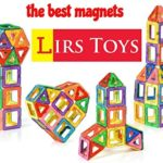 Lirs TOYS 30-pcs: Magnetic Blocks, Magnetic Tiles, Building Blocks Set For Kids/Toddlers age 3+.Creativity & Educational Toys for Boys/Girls.Premium 3D