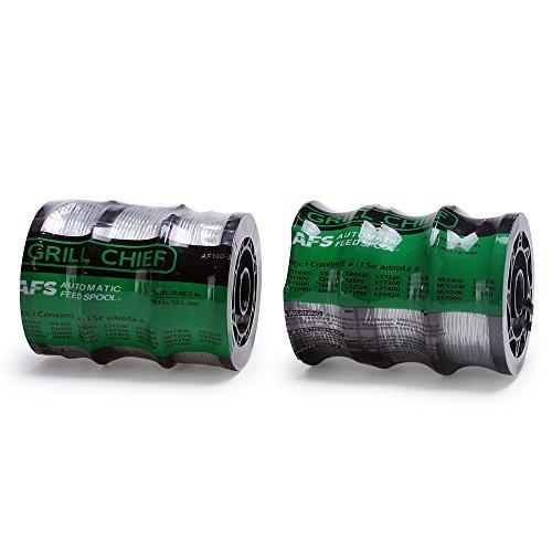 Grill Chief Line String Trimmer AF-100-3ZP 30ft 0.065″ for Black+Decker – 3 Count (2 pack)