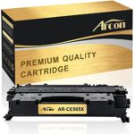 Arcon Compatibel for HP 05X CE505X Toner Cartridge Replacement for HP LaserJet P2055dn, HP P2055dn, P2055dn P2055 HP 05X CE505X HP LaserJet P2055D HP LaserJet P2055DN HP LaserJet P2055X Printer Toner
