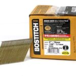 BOSTITCH S10DRGAL-FH 28 Degree 3-Inch by .120-Inch Wire Weld Galvanized Ringshank Framing Nails (2,000 per Box)