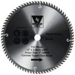 Neiko 10768A 12″ Carbide Tipped Miter Saw Blade | 80 Tooth