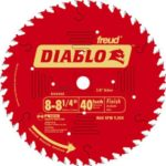 Freud D0840X Diablo 8-1/4-Inch 40 Tooth ATB Finishing Saw Blade with 5/8-Inch Arbor