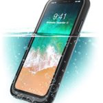 iPhone X Case, i-Blason [Aegis] Waterproof Full-body Rugged Case with Built-in Screen Protector for Apple iPhone X 2017 / iPhone10 Release (Frost/Black)