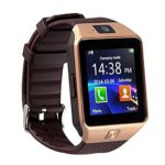 GZDL Bluetooth Smart Watch DZ09 Smartwatch Watch Phone Support SIM TF Card with Camera for Android IOS iPhone Samsung LG Phones Gold