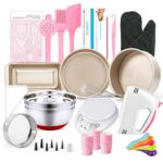 MCK Complete Cake Baking Set Bakery Tools for Beginner Adults – 21 PCS of Baking Equipment