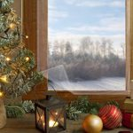 Rabbitgoo Indoor Window Shrink Film Kit Window Kit Insulation Crystal Clear, 62in. By 210in.