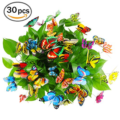 Butterfly Stakes 30 Pack 3.9