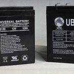 12 Volt 12 Ah Go-Go Travel Mobility Elite Traveller SC40E, SC44E Battery – 2 Pack