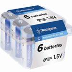 Westinghouse Dynamo Alkaline Batteries (C, 6)