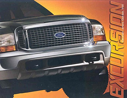 1999 Ford Excursion SUV Truck Brochure