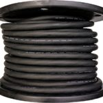 Cerrowire 283-3804E 150-Feet 10/4 SOOW Rubber Flexible Extra Heavy Duty Cord, Black