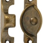Woodworker's Supply, Inc. 174095, 10-pack, Hardware, Locks And Latches, Catches And Bolts, Sash Lock-Classic-Antique Brass