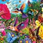 Buffalo Games – Vivid Collection – Hummingbird Garden – 1000 Piece Jigsaw Puzzle