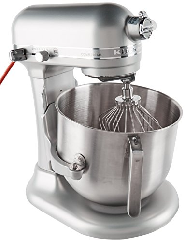 KitchenAid (KSM8990NP) 8-Quart Stand Mixer with Bowl Lift (Nickel Pearl)