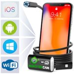 Endoscope – Inspection Camera – Endoscope camera- Snake Camera Iphone 6 7 8 X Android IOS – USB Borescope Endoscope – Wireless Waterproof Home Automotive Vehicle Welding Digital LED WiFi Endoscope HD