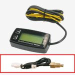 AndyTach Digital tachometer, thermometer and hour meter (Water cooled engine)