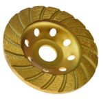 KSEIBI 644052 Super Turbo Diamond Cup wheel 4-1/2 Inch (115 mm)