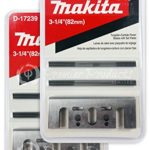 Makita 2 Pack 8 Pc – 3 1 4 Planer Blade Double Edge Set For Planers – Cutting For Hard Wood – 3-1/4″ Tungsten Carbide | 2-Piece Blade