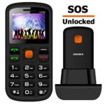 MOSTHINK Unlocked Senior Phone 1.77″ 2G GSM T-Mobile Big Button SOS Cell Phones for Seniors Kids(T-Mobile Only)