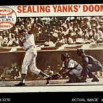 1964 Topps # 139 1963 World Series – Game #4 – Sealing Yanks' Doom – Frank Howard Los Angeles / New York Dodgers / Yankees (Baseball Card) Dean's Cards 2 – GOOD Dodgers / Yankees