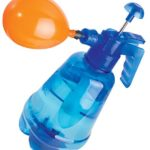 Water Balloon Portable Filling Station 3-In-1 Pump Fills Balloons With Water Or Air – w/ 250 Balloons and Water Pump for Kids, Birthday, Parties and More (Colors Will Vary)
