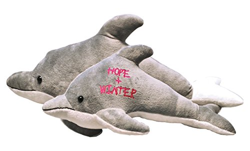 Dolphin Tale 2 Hope and Winter Detachable Plush by The Clearwater Marine Aquarium