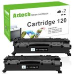 Aztech 2 Packs CRG 120 Cartridge Compatible Canon 120 Cartridge 120 Imageclass D1550 Toner Cartridge for Canon Imageclass D1550 D1520 D1320 D1120 D1350 D1150 D1170 D1180 D1370 Toner Cartridge Printer