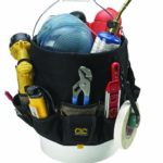 Custom Leathercraft 1119 Bucket Caddy Organizer, 48 Pocket