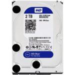 WD Blue 2TB Desktop Hard Disk Drive – SATA 6 Gb/s 64MB Cache 3.5 Inch – WD20EZRZ