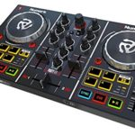 Numark Party Mix | Starter DJ Controller with Built-In Sound Card & Light Show, and Virtual DJ LE Software Download