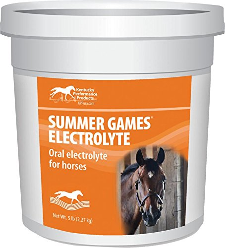 KENTUCKY PERFORMANCE PROD 044042 Summer Games Electrolyte Supplement For Horses, 5 lb