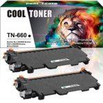 Cool Toner 2 Packs TN660 TN630 Toner Compatible for Brother TN-660 Toner Brother HL l2320d HLl2320d HL-l2380dw HLl2380dw HL l2380dw HL-l2360dw HLl2360dw HL l2360dw DCPl2540dw MFC l2700dw Toner